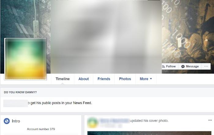 extremist profile