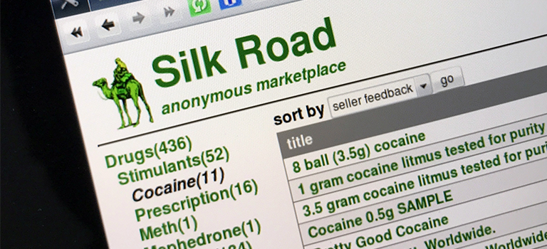 Dark Web Silk Road anonymous marketplace drugs index