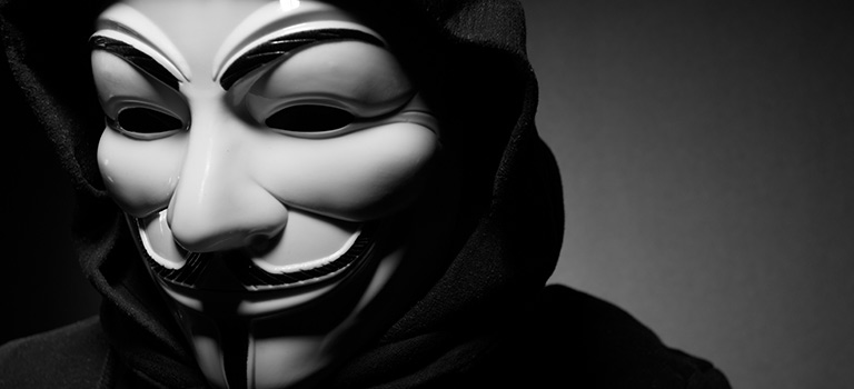 Anonymous Hacktivist Mask
