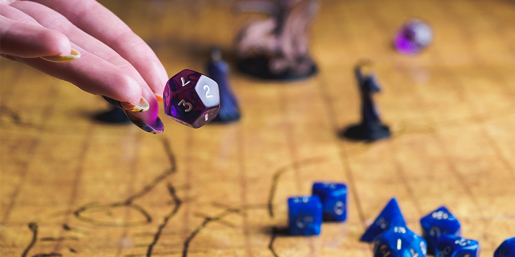 Dungeons and Dragons dice roll, disaster recovery.