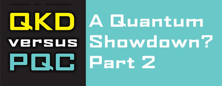 QKD versus RQC