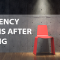 emergency sign in room with red chairs, emergency, hacking metaphor