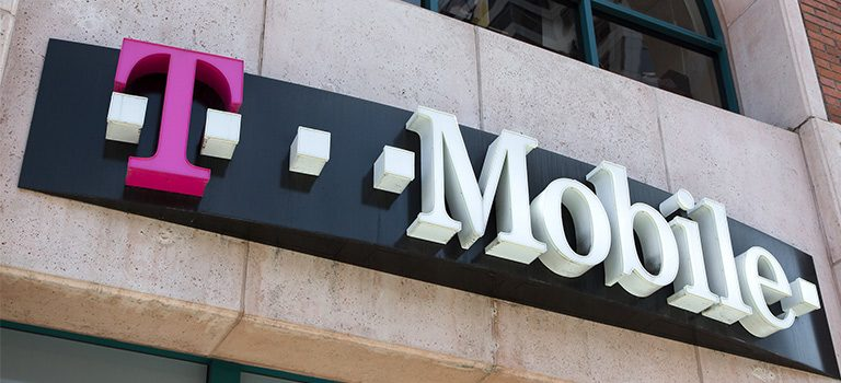 T-Mobile exterior sign
