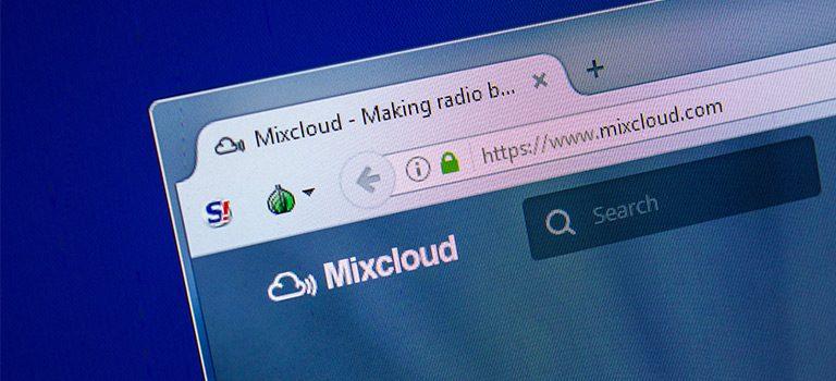 MixCloud Website