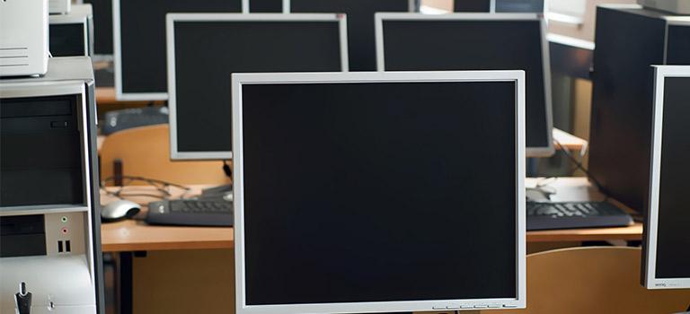 Montgomery school computer lab
