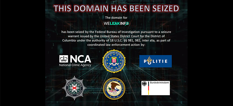 WeLeakInfo Shut Down by FBI for Selling Billions of Stolen Data to Subscribers