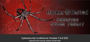Hacker Halted October 2021 Training Banner