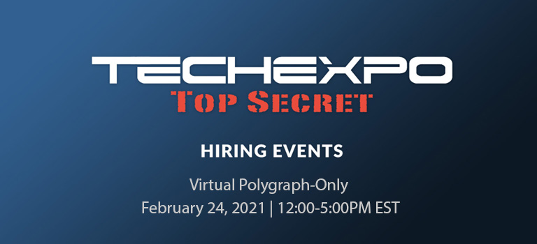 Virtual Polygraph-Only Hiring Event
