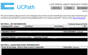 Clop Group Leaked UCPath Form