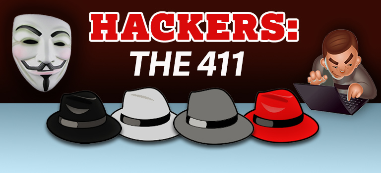 Hackers, White Hat, Black Hat, Red Hat, Gray Hat, Hacktivists and Script Kiddies